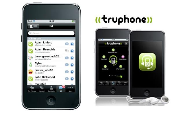 Truphone turns iTouch into an iPhone, sorta